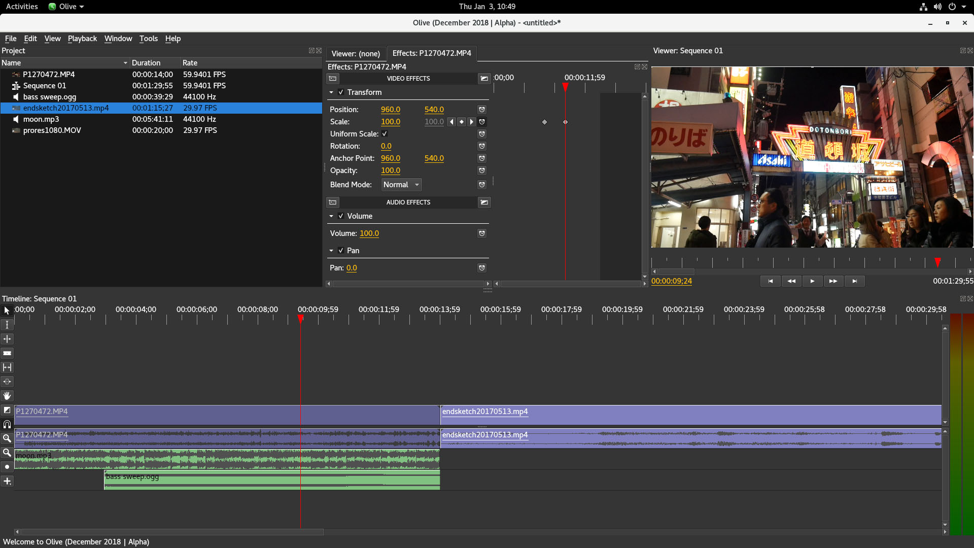 Olive - Professional Open-Source Video Editor